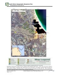 South Shore Geographic Response Plan Musquashcut Pond SS-03