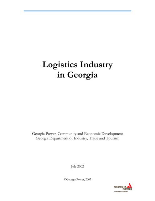Logistics Industry in Georgia - Logistics Provider Directory