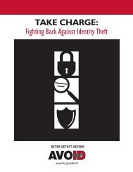 TAKE CHARGE: - Business Identity Theft