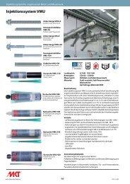 Injektionssystem VMU - MKT Metall-Kunststoff-Technik GmbH & Co ...