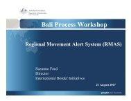 RMAS - Bali Process