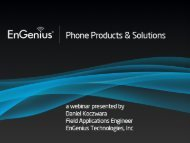 FreeStyl 1 Handset - EnGenius Technologies