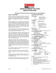 technical manual (PDF 91K) - Power Drive Systems Generator ...