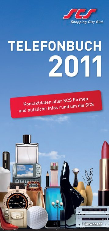 SCS-Telefonbuch 2011 - Shopping-Intern