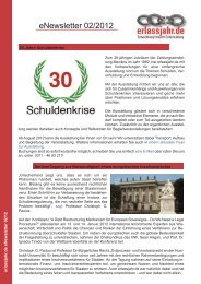 erlassjahr.de eNewsletter 02/2012
