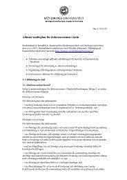 Allmän studieplan för doktorsexamen i latin - Humanistiska ...