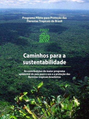 Caminhos para a sustentabilidade - Ministério do Meio Ambiente