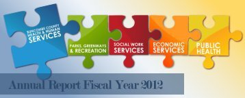 Buncombe County Health & Human Services Annual Report FY12