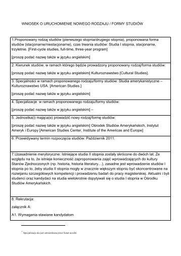 Wniosek Osa Na Senatpdf Uniwersytet Warszawski