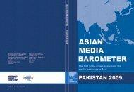 Asian Media Barometer : Pakistan 2009 - Bibliothek der Friedrich ...