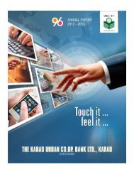 Download Annual Report Cover Page - Karad Urban Co-operative ...