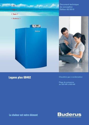 Logano plus GB402 - Buderus