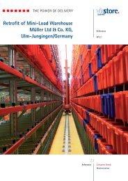 Retrofit of Mini-Load Warehouse Müller Ltd & Co. KG, Ulm ... - viastore