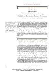 030403 Alzheimer's Disease and Parkinson's Disease - eTableros