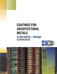 COATINGS FOR ARCHITECTURAL METALS - PaintSquare