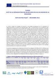 Analysis for European Neighbourhood Policy (ENP ... - SWIM-SM