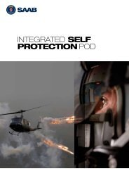 Integrated Self Protection Pod product sheet (pdf) - Saab
