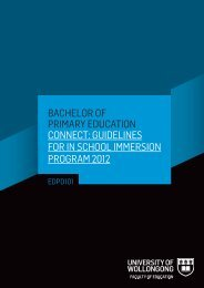 BACHELOR OF PRIMARY EDUCATION CONNECT: GUIDELINES ...