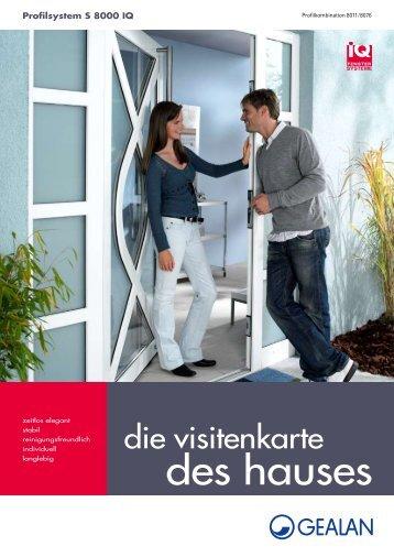 PVC-Haustüren (pdf, 277 kb) - Schmitz-Fenster GmbH