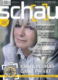 So schaut´s aus: Das neue Heft - SchauMedia