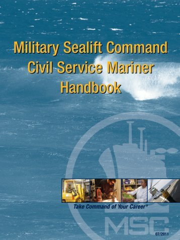 Military Sealift Command Civil Service Mariner Handbook