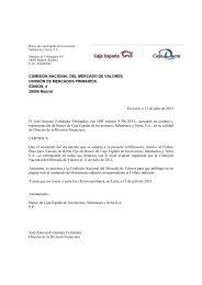 Folleto base de valores de renta fija y estructurados de Banco de ...