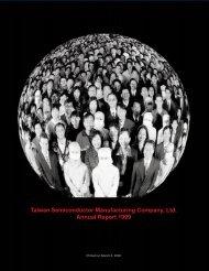 1999 Annual Report - TSMC