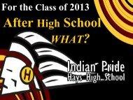 WHAT? - Hays High School