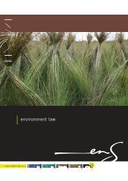 environment law - Centre for Environmental Rights