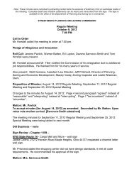 Regular Meeting October 9, 2012 7:00 PM Call to ... - Streetsboro