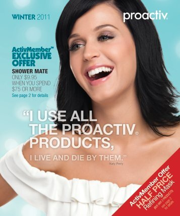 to view the WINTER 2011 Catalogue - Proactiv