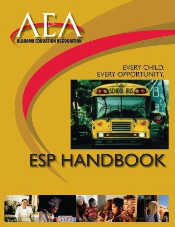 2012 ESP Handbook - Alabama Education Association