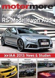 Flotte(n)fahrt RS-Modelle von Audi 2013 - Motor & more