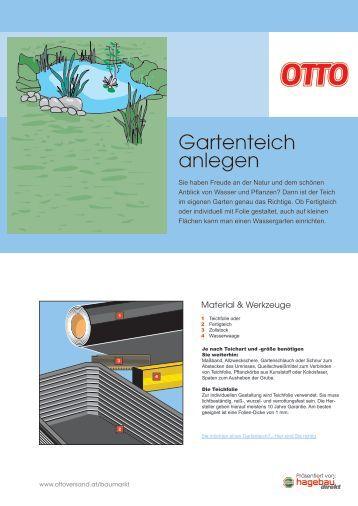 Gartenteich anlegen klensby for Gartenteich anlegen pdf