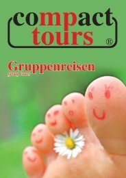 Gruppenkatalog Download - Compact Tours GmbH