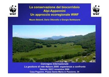 La conservazione del biocorridoio Alpi-Appennini Un approccio ...
