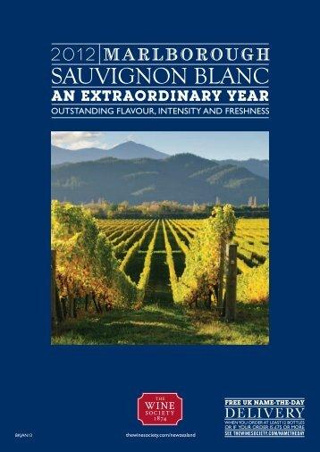 SAUVIGNON BLANC - The Wine Society