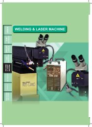 Welding and Laser Machine - Factory Max CO., LTD