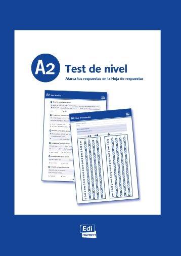 Test de nivel - Colégio S. Gonçalo