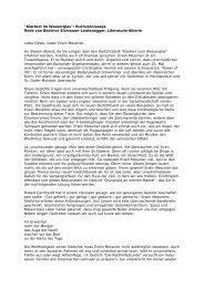 Buchvernissage Rede von Beatrice Eichmann-Leutenegger - Edition8