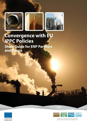 Convergence with EU IPPC Policies - European Commission - Europa