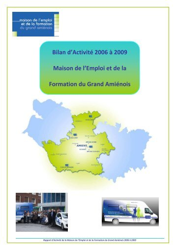 Bilan Activité 4 ans MEF complet - Maison de l'emploi et de la ...