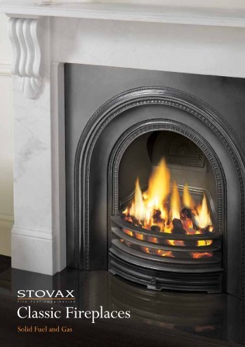 Classic Fireplaces - Brochures - Stovax