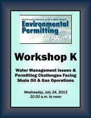 Workshop K - MEC Seminars & Conferences