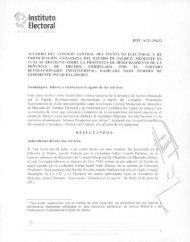 29. proyecto de acuerdo del consejo general del instituto electoral y ...