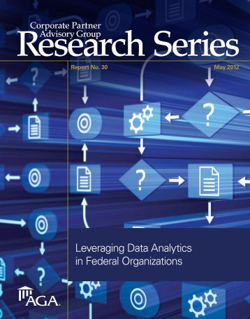 Leveraging Data Analytics in Federal Organizations - AGA