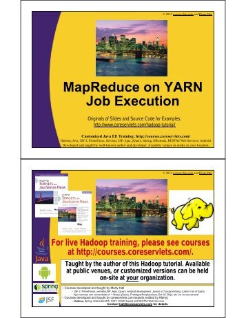 MapReduce on YARN Job Execution - Custom Training Courses ...