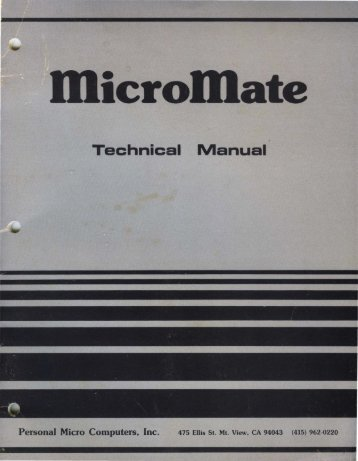 Technical Manual - BigHole.nl