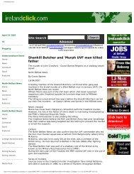 Shankill Butcher and 'Murph UVF man killed father - CAIN