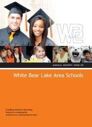 2008-09 - White Bear Lake Area Schools